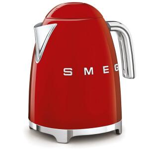 Smeg KLF03RDEU Wasserkocher 50s Retro Style, 1,7 L, Rot